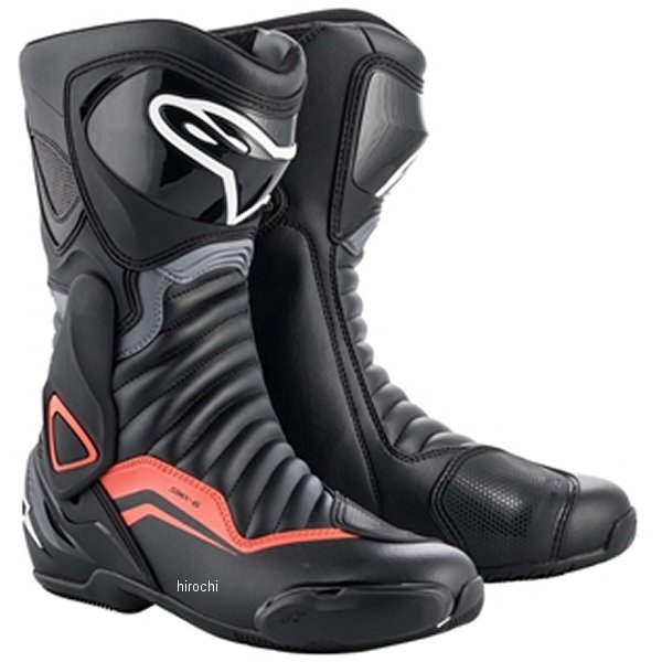アルパインスターズ 春夏モデル ブーツ SMX 6 3017 1130 黒/グレー/レッドフロー 45サイズ 29.5cm 8033637936628 JP店
