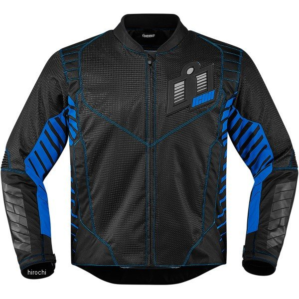 【USA在庫あり】 アイコン ICON スリーシーズンジャケット ワイヤーフォーム 青 Sサイズ 2820-3588 JP店