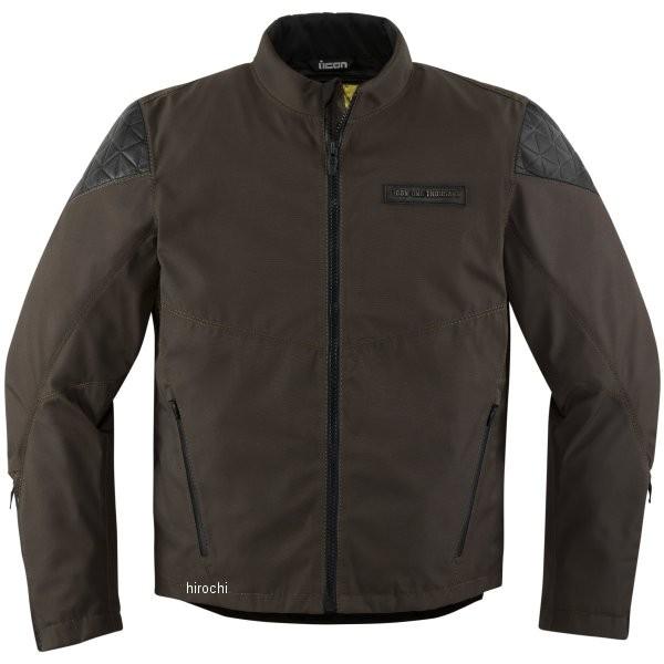 【USA在庫あり】 アイコン ICON 秋冬モデル ジャケット Squalborn エスプレッソ Mサイズ 2820-4046 JP店