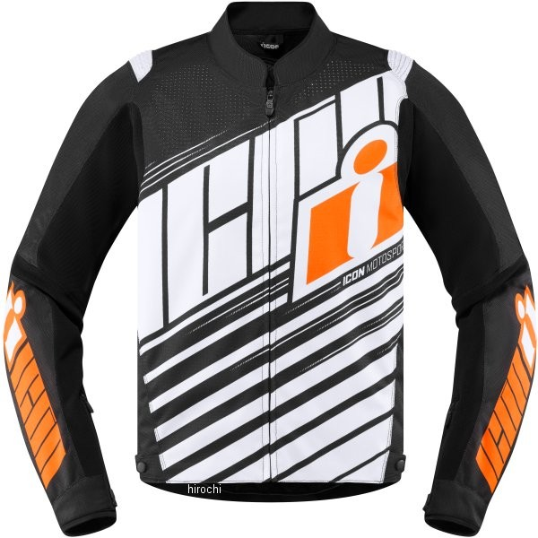 アイコン ICON 春夏モデル ジャケット オーバーロード SB2 オレンジ XLサイズ 2820-4245 JP店
