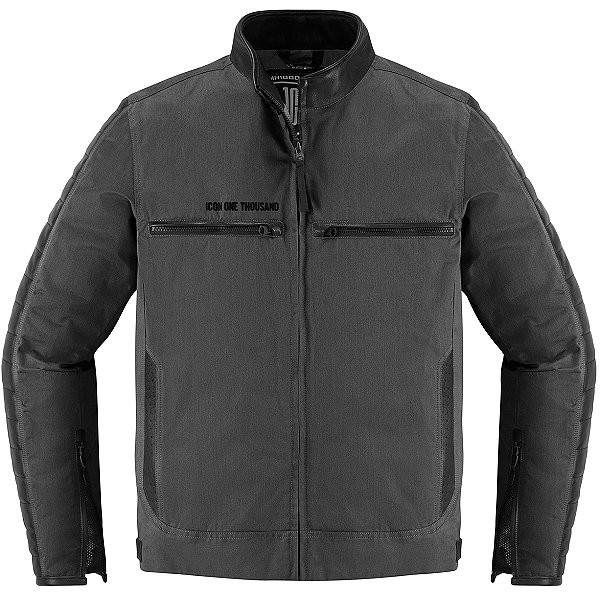 【USA在庫あり】 アイコン ICON 秋冬モデル ジャケット MH 1000 黒 2XLサイズ 2820-4556 JP店