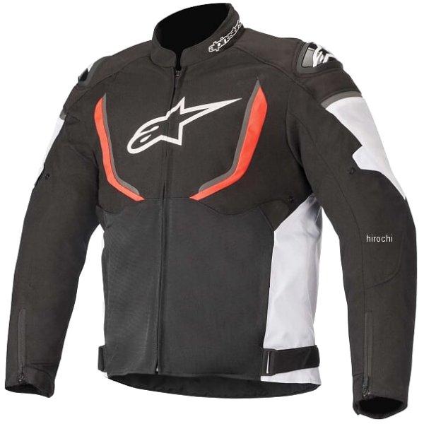 【メーカー在庫あり】 アルパインスターズ 春夏モデル ジャケット T-GP R V2 AIR 1231 黒/白/レッドフロー XLサイズ 8033637971728 JP店