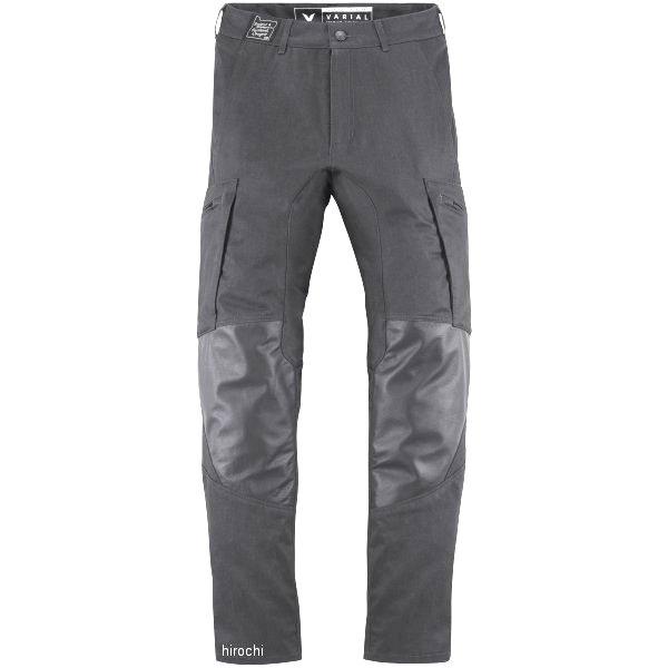 【USA在庫あり】 アイコン ICON 春夏モデル パンツ バリアル 黒 34サイズ 2821-1040 JP店