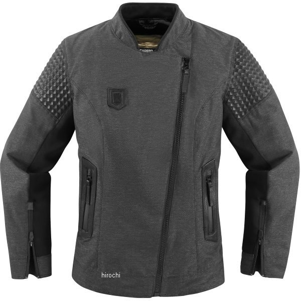 【USA在庫あり】 アイコン ICON 春夏モデル ジャケット タスカデロ レディース 黒 2XLサイズ 2822-0903 JP店