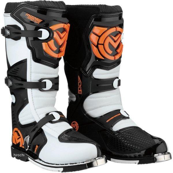 【USA在庫あり】 ムースレーシング MOOSE RACING ブーツ M1.3 MX オレンジ/白 9サイズ(27cm) 3410-1990 JP店