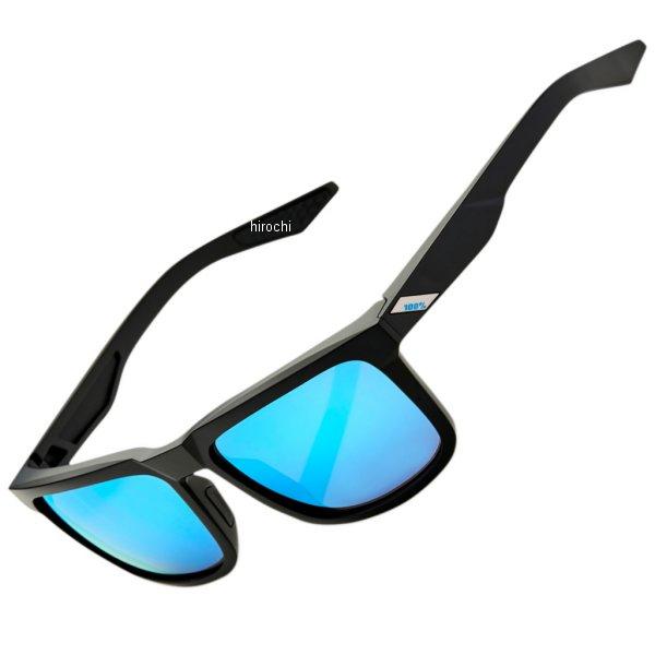 【USA在庫あり】 100パーセント 100% サングラス Active Lifestyle ブレイク 黒(つや消し)/ブルーミラーレンズ 2610-1087 JP店