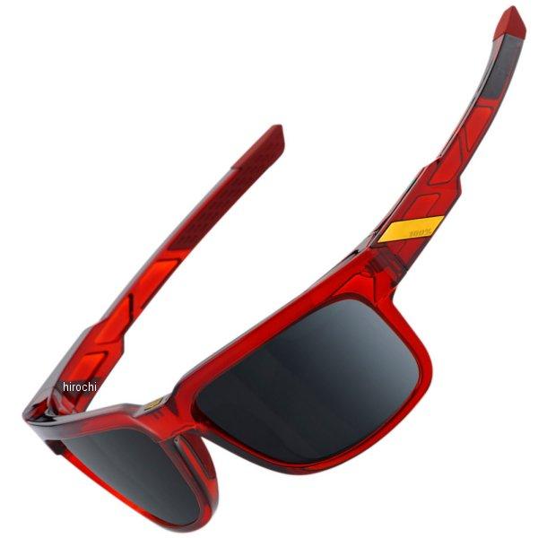 【USA在庫あり】 100パーセント 100% サングラス Type-S 赤フレーム/黒ミラーレンズ 2610-1116 JP店