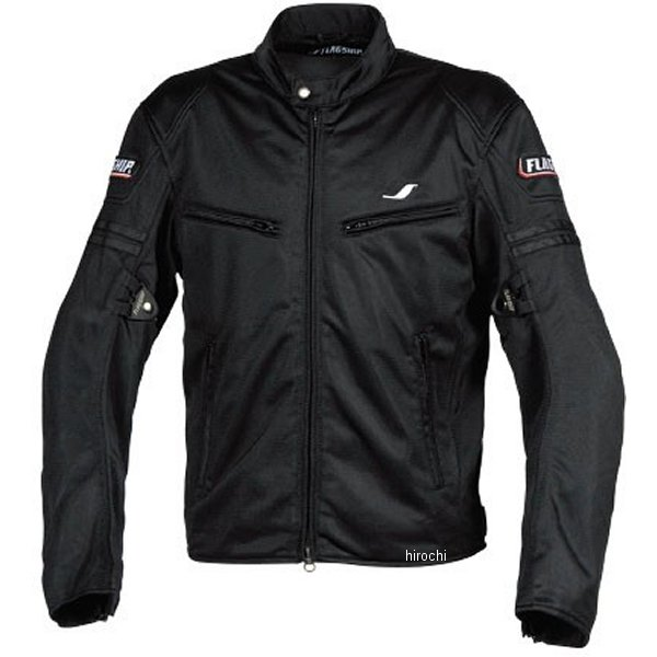 フラッグシップ FLAGSHIP 春夏モデル スマートライドメッシュジャケット 黒 Sサイズ FJ-S195 JP店
