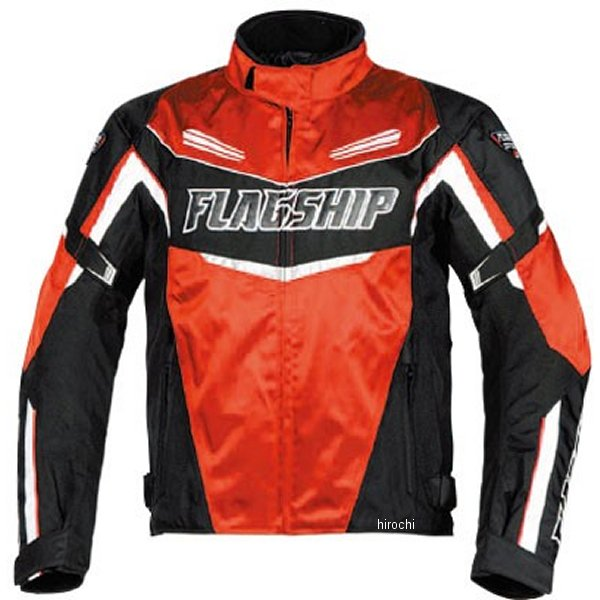 フラッグシップ FLAGSHIP 春夏モデル sawマルチシーズンジャケット 赤 4Lサイズ FJ-A192 JP店