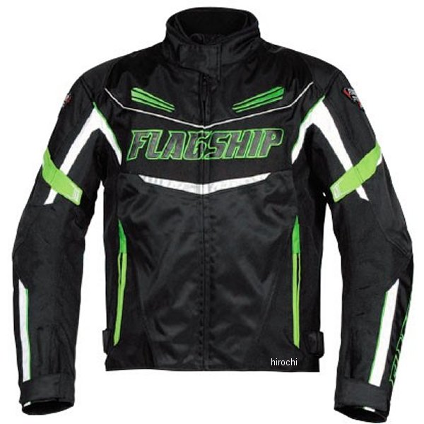 フラッグシップ FLAGSHIP 春夏モデル sawマルチシーズンジャケット 緑 LLサイズ FJ-A192 JP店