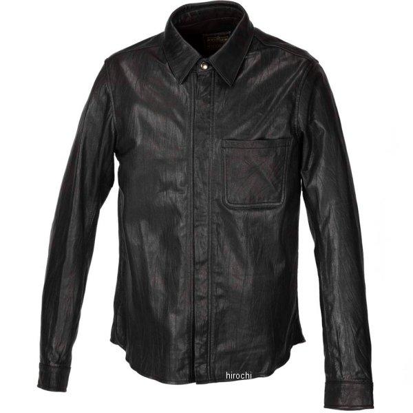 カドヤ KADOYA 春夏モデル レザーシャツ STD 黒 LLサイズ 1199-0 JP店