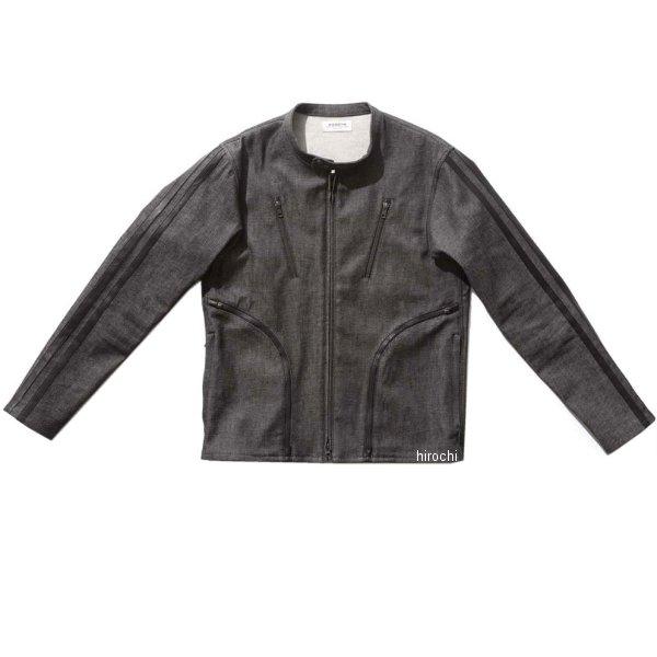 カドヤ KADOYA 春夏モデル デニムジャケット CORSA 黒 LLサイズ 6245-0 JP店
