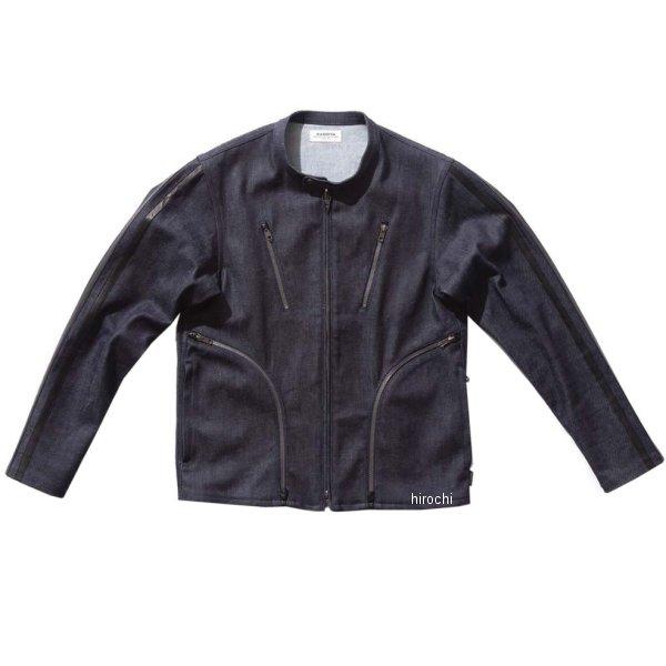 カドヤ KADOYA 春夏モデル デニムジャケット CORSA ネイビー 3Lサイズ 6245-0 JP店