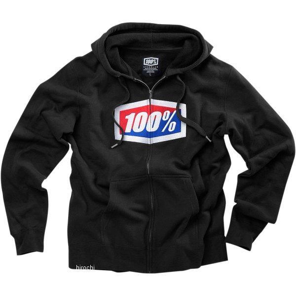 【USA在庫あり】 100パーセント 100% フリース Zip-Front Official 黒 2XLサイズ 3050-3432 JP店
