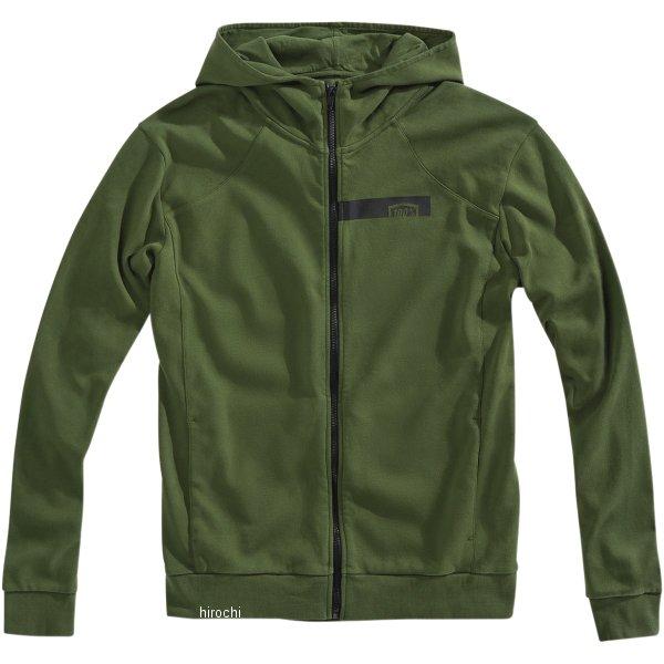 【USA在庫あり】 100パーセント 100% フリース Zip-Front Chamber グリーン Sサイズ 3050-4678 JP店