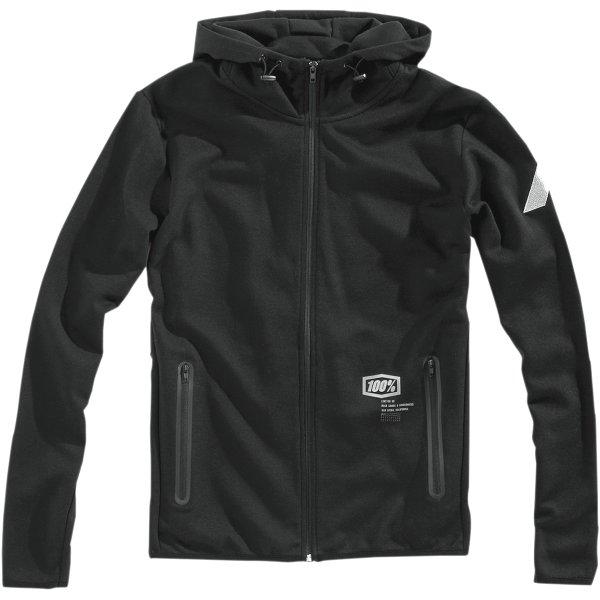 【USA在庫あり】 100パーセント 100% フリース Zip-Front Viceroy 黒 Mサイズ 3050-4715 JP店