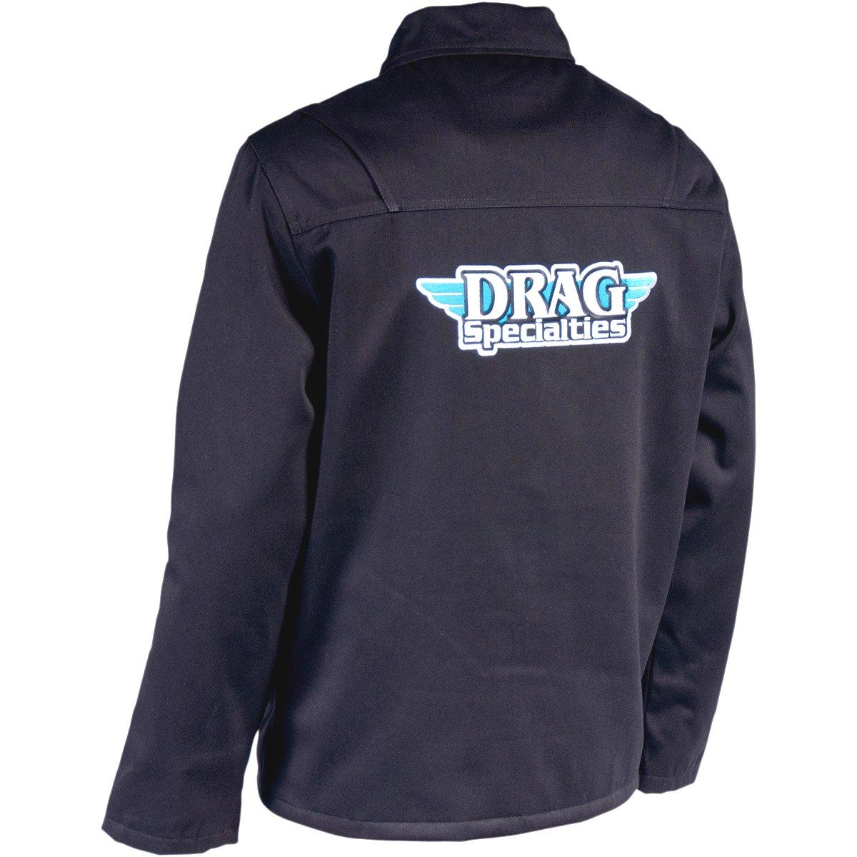 【USA在庫あり】 スロットルスレッズ Throttle Threads ショップジャケット Drag Specialties 黒 Mサイズ 3001-0260 JP店