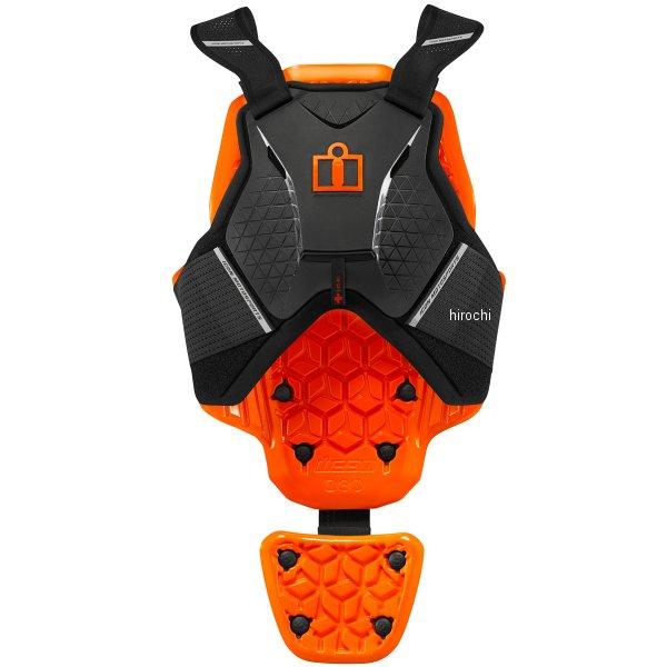 アイコン ICON レザーベスト ICON D3O 黒 2XL/3XLサイズ 2702-0233 JP店