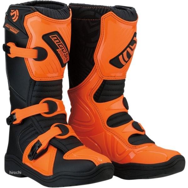 【USA在庫あり】 ムースレーシング MOOSE RACING ブーツ 子供用 M1.3 黒/オレンジ 1(21cm) 3411-0437 JP店
