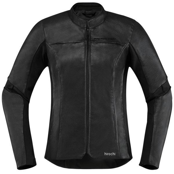アイコン ICON ジャケット OVERLORD レディース 黒 CE XLサイズ 2813-0817 JP店
