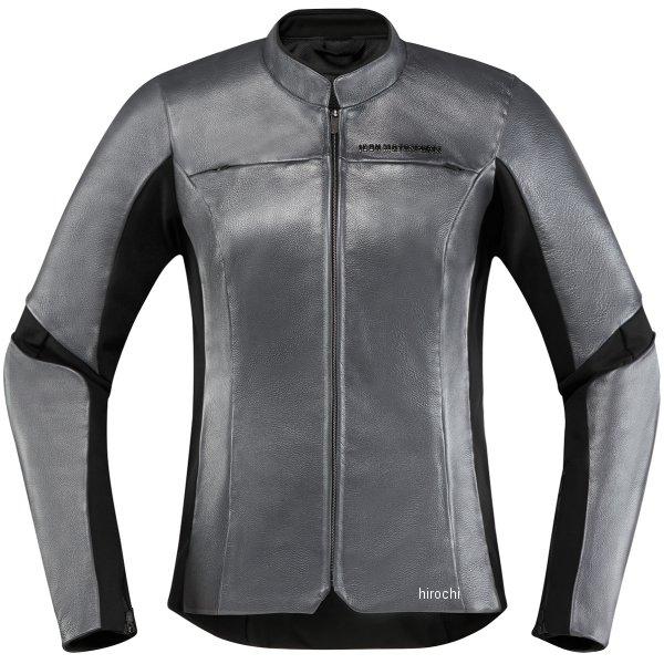 アイコン ICON ジャケット OVERLORD レディース チャコール CE XLサイズ 2813-0822 JP店