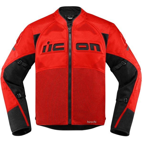 アイコン ICON ジャケット CONTRA2 赤 Mサイズ 2820-4772 JP店
