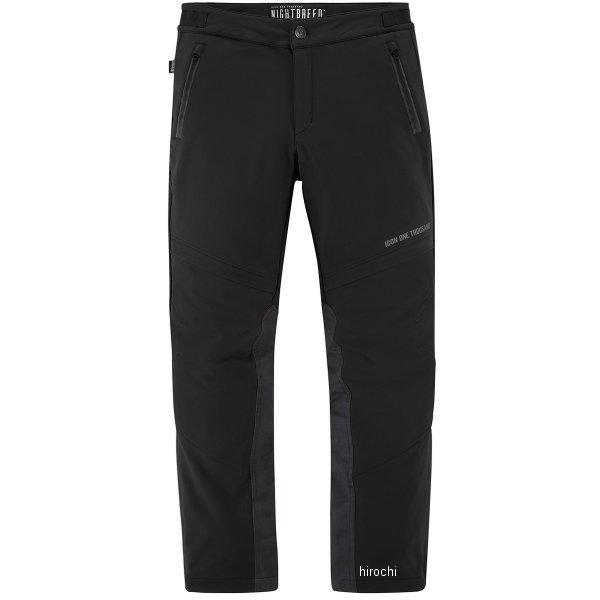 アイコン ICON 2019年春夏モデル パンツ NIGHTBREED 黒 44サイズ 2821-1110 JP店