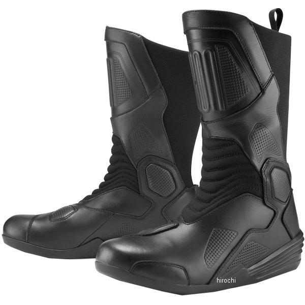 アイコン ICON ブーツ JOKER 黒 12サイズ 3403-0954 JP店