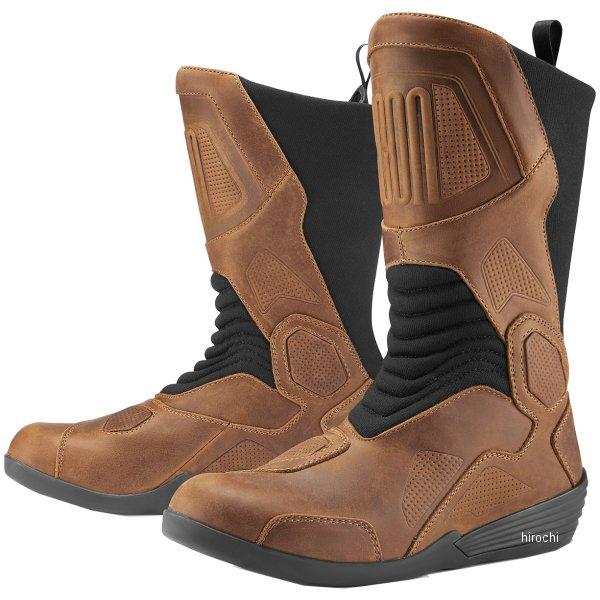 アイコン ICON ブーツ JOKER ブラウン 12サイズ 3403-0966 JP店