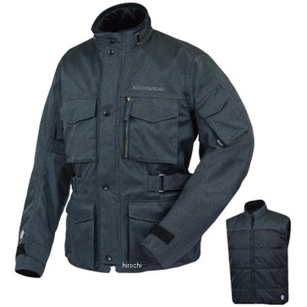 ラフ&ロード 春夏モデル SSFトレイルツーリングジャケット EX ヘリンボーンチャコール BLサイズ RR4012HB-CHB3 JP店