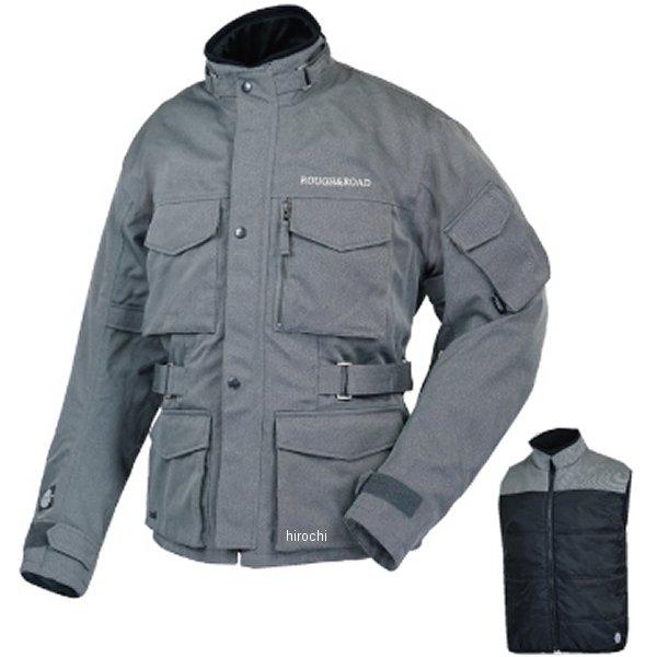 ラフ&ロード 春夏モデル SSFトレイルツーリングジャケット EX ヘリンボーンライトグレー Lサイズ RR4012HB-LG3 JP店