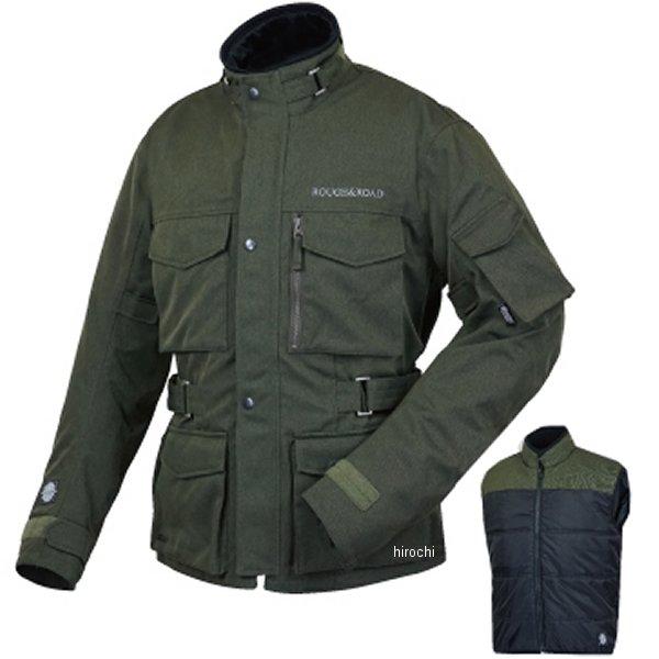 ラフ&ロード 春夏モデル SSFトレイルツーリングジャケット EX ヘリンボーンオリーブ Lサイズ RR4012HB-OV3 JP店