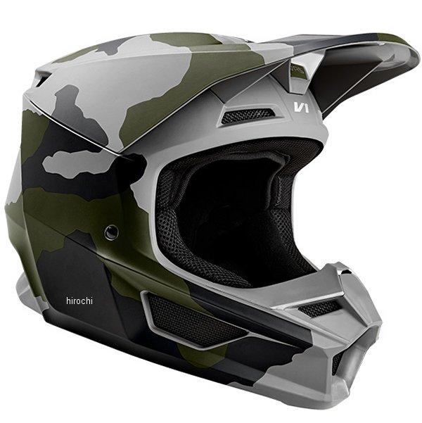 【メーカー在庫あり】 フォックス FOX V1 オフロードヘルメット スペシャルエディション カモ XLサイズ(61cm-62cm) 24342-027-XL JP店