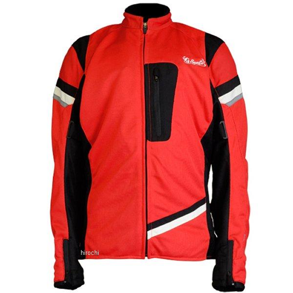 SEAL'S シールズ 春夏モデル メッシュジャケット レディース 赤/黒 Lサイズ SLB-647W JP店