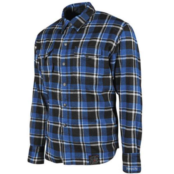 【USA在庫あり】 スピードアンドストレングス モトシャツ Black Nine 青/黒 Mサイズ 884666 JP店