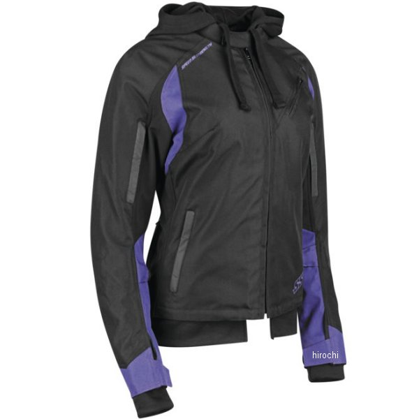 【USA在庫あり】 スピードアンドストレングス テキスタイルジャケット 女性用 SpeLLbound パープル/黒 XSサイズ 884700 JP店