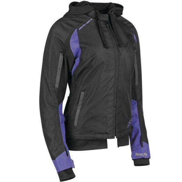 【USA在庫あり】 スピードアンドストレングス テキスタイルジャケット 女性用 SpeLLbound パープル/黒 Lサイズ 884703 JP店
