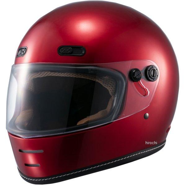 マルシン工業 Marushin フルフェイスヘルメット ネオレトロスタイル MNF1 エンドミル キャンディーレッド Lサイズ 4980579002260 JP店