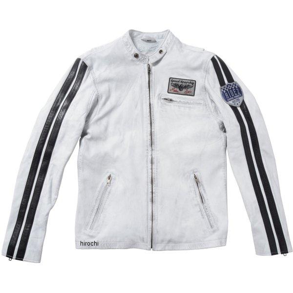 RLJ1101 ライズ RIDEZ ジャケット COMP 白/黒L サイズ 4527625105539 JP店