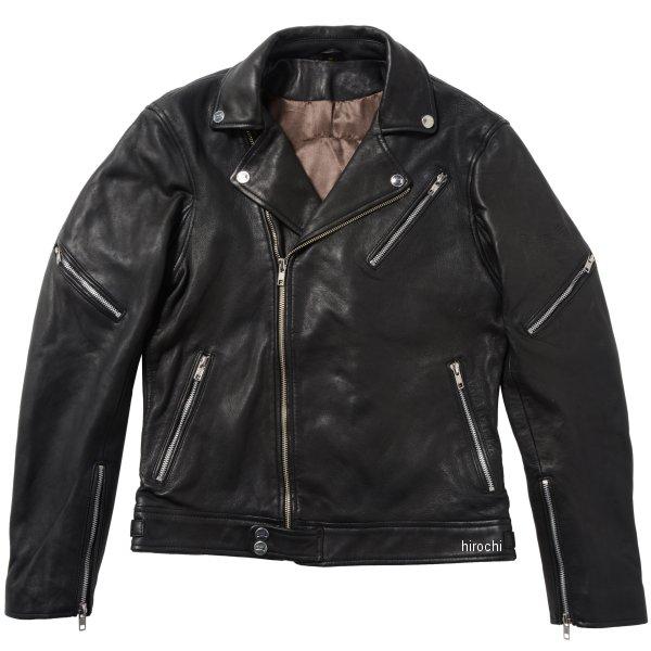 ライズ RIDEZ ダブルライダースジャケット THE BLACK FLAG 黒 44インチ BFJ02 JP店