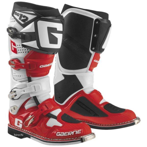 【USA在庫あり】 ガエルネ GAERNE ブーツ SG-12 白/赤/黒 10.5サイズ(27.75cm) 454995 JP店