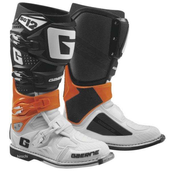 【USA在庫あり】 ガエルネ GAERNE ブーツ SG-12 オレンジ/白 9.5サイズ(27.25cm) 455842 JP店