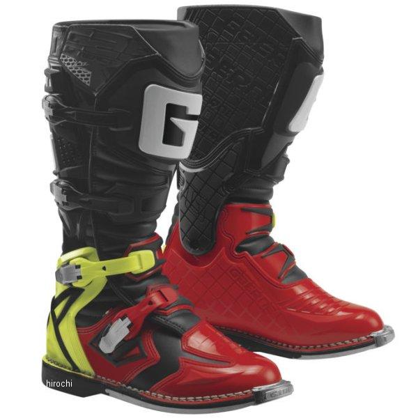 【USA在庫あり】 ガエルネ GAERNE ブーツ G-React 赤/黄/黒 8サイズ(26.5cm) 455849 JP店