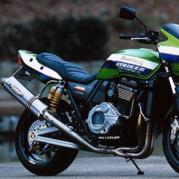 ストライカー STRIKER フルエキゾースト RC 4-2-1 アップ オーバル レース用 97年-04年 ZRX1200、ZRX1100チタン素地 6014OT50 JP店