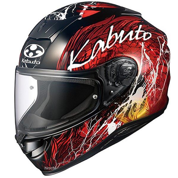 オージーケーカブト OGK KABUTO フルフェイスヘルメット AEROBLADE-5 DRAGON 黒赤 XLサイズ 4966094584405 JP店