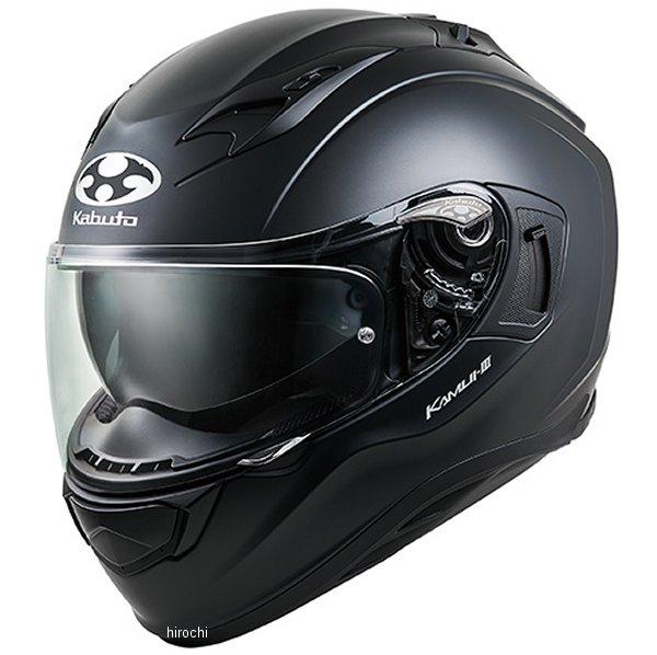 【メーカー在庫あり】 オージーケーカブト OGK KABUTO フルフェイスヘルメット KAMUI 3 フラットブラック Sサイズ 4966094584818 JP店