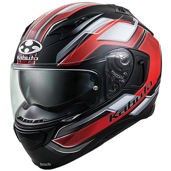 【メーカー在庫あり】 オージーケーカブト OGK KABUTO フルフェイスヘルメット KAMUI 3 ACCEL フラットブラック赤 Lサイズ 4966094585846 JP店