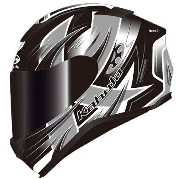オージーケーカブト OGK KABUTO フルフェイスヘルメット AEROBLADE-5 HURRICANE フラットブラックシルバー Lサイズ 4966094586805 JP店