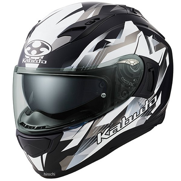 【メーカー在庫あり】 オージーケーカブト OGK KABUTO フルフェイスヘルメット KAMUI 3 STARS フラットブラックシルバー Sサイズ 4966094587314 JP店