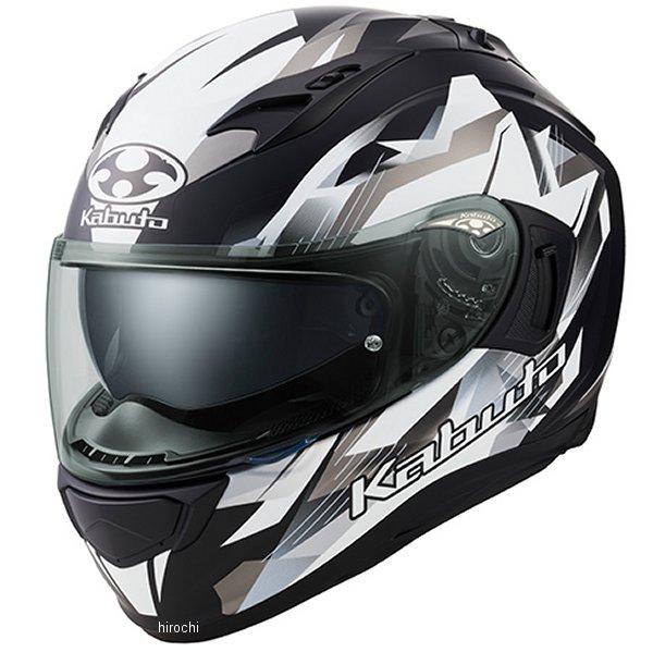 オージーケーカブト OGK KABUTO フルフェイスヘルメット KAMUI 3 STARS フラットブラックシルバー Mサイズ 4966094587321 JP店